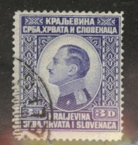Yugoslavia Scott 33 Used stamp