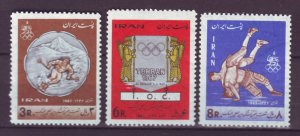 J22002 Jlstamps 1967 iran set mh #1436-8 sports