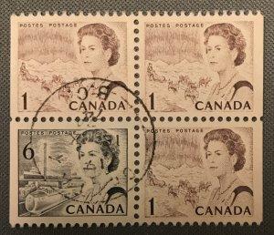 Canada 3 - # 454, 460 Used