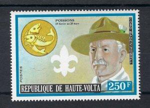 1973 Scouts Upper Volta BadenPowell Zodiac
