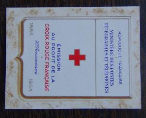 France 1954 Red Cross Booklet MNH