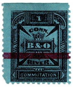(I.B) USA Telegraphs : Baltimore & Ohio (Connecticut River) 5c
