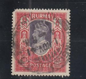 Burma  Scott#  32  Used