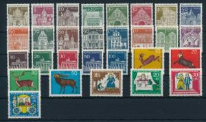 West Germany Berlin 1966 Complete Year Set MNH