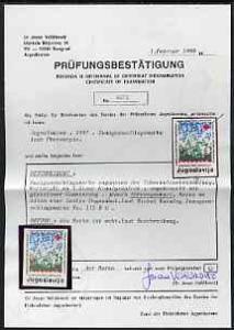 Yugoslavia 1986 Obligatory Tax - Anti-TB 5d unmounted min...