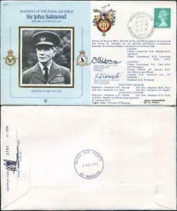CDM3a RAF COMMANDERS SERIES John Salmond Signed Capt Moore and Wg Cdr Colver (C)