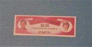 St. Kitts - 78, MNH. Royal Wedding. SCV - $0.75