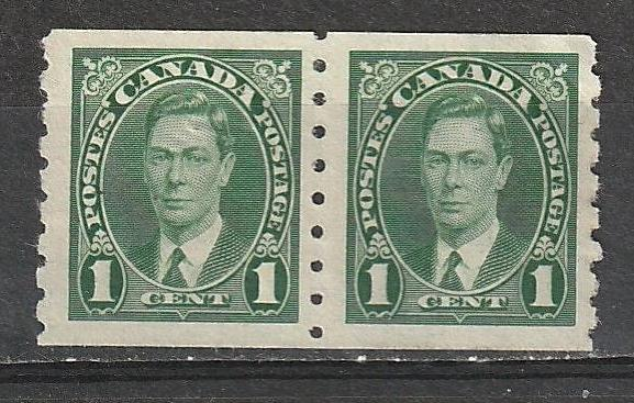 #238 Canada Mint NG pair George VI