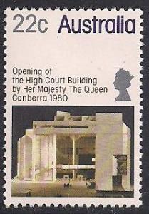 Australia 742 MNH - Canberra High Court Building