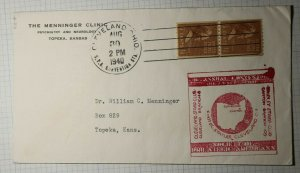SPA Cleveland Ohio Philatelic Convention Cachet Cover 1940