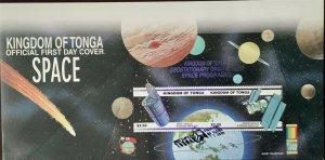 Kingdom of Tonga Space Geostationary Orbital Slot Space Program World Stamp Expo