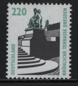 GERMANY, 1849, MNH, 1994-2001, Historic Sites and Objects