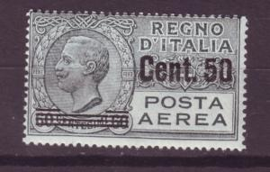 J17240 JLstamps 1927 italy mlh #c10 airmail ovpt