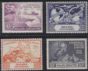 Singapore 23-26 MNH (1949)