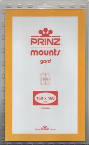 PRINZ BLACK MOUNTS 150X166 (5) RETAIL PRICE $10.50