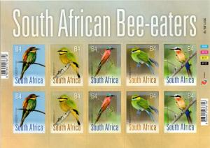 South Africa - 2017 Birds Bee-eaters Sheet MNH**