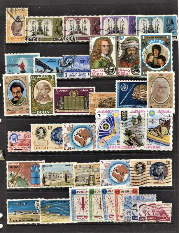 STAMP STATION PERTH Dubai #38 Mint / Used Stamps - Unchecked