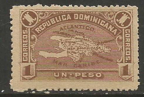 Dominican Republic 119 MNG MAP R196-1