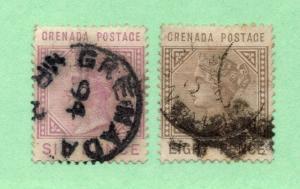 Grenada - SG# 34 & 35 Used  /  Lot 1118278