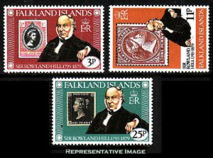 Falkland Islands MNH 291-3 Sir Rowland Hill SCV 1.35