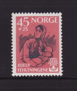 Norway B64 MNH World Refugee Year