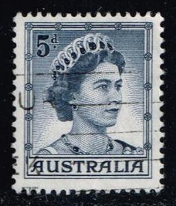 Australia #319 Queen Elizabeth II; used (0.25)