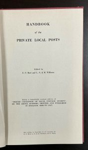 Billig's Specialized Catalogues Volume 6  Handbook of Private Local Posts  1950