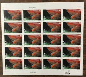 C-134    Rio Grande, Texas    Mint 40¢  Sheet of 20.   Issued in 1999.