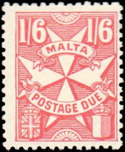 Malta #J31, Incomplete Set, High Value, 1968, Hinged