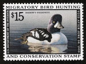 US Sc RW63 Federal Duck MNH Original Gum