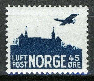 Norway 1941, 45ø Airmail, unWaterMarked, VF MNH, NK 253, Mi 230