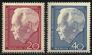 Germany Allied Occ Berlin 1964 Scott# 9N211-12 MNH