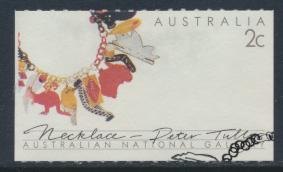Australia  SG 1158   SC#1095  with First Day Cancel -  Crafts  Necklace
