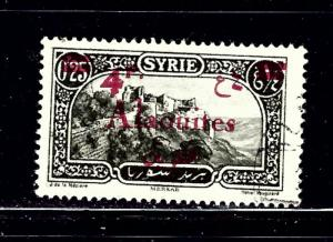 Alaouites 48 Used Overprint