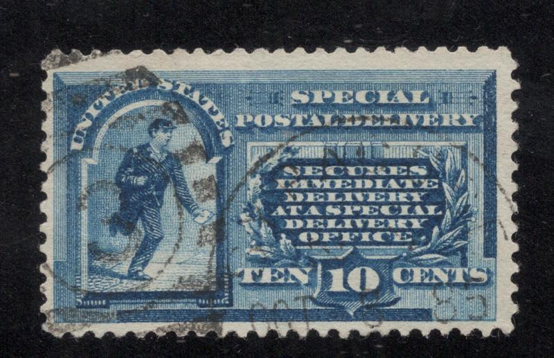 US#E1 Blue - Dated First Week of Use Cancel