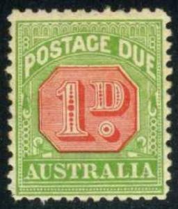Australia #J51 Postage Due, Unused (7.50)