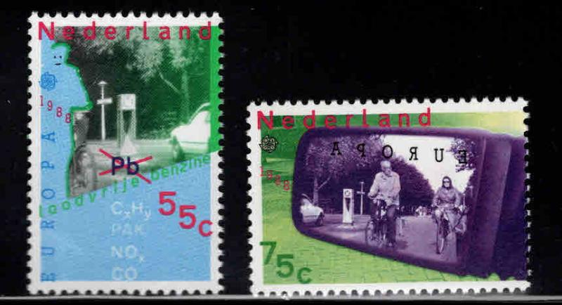 Netherlands Scott 729-730 MNH** Europa 1988 set