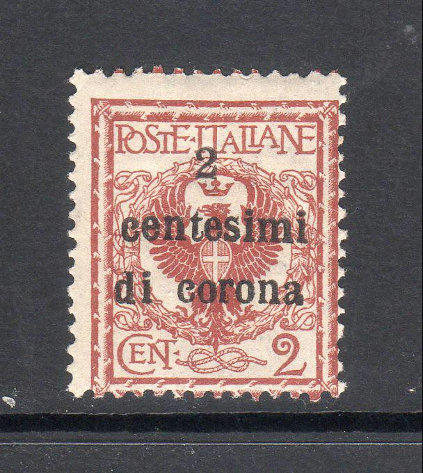AUSTRIA N65  MNH Under Italian Occupation