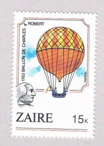 Zaire 1161 MNH Balloons 1984 (Z0036)+