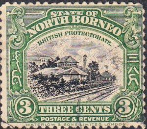 North Borneo #169  Used      CDS