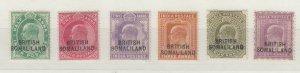 Somaliland KEVII 1903 Set To 8 Anna SG25/30 MH JK883