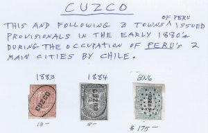 CUZCO USED GROUP SCV $201.00 STARTS @ A LOW PRICE
