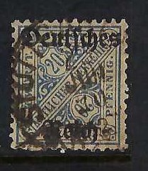 GERMANY WURTTEMBERG O179 VFU Z3718-2