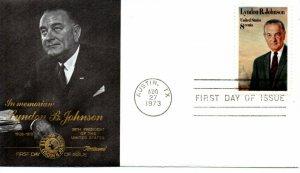 US FDC #1503 Johnson, Fleetwood (5791)