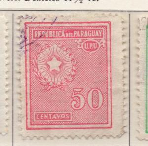 Paraguay 1927 Early Issue Fine Used 50c. 169880