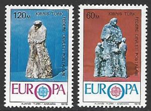 Northern Cyprus #30-31 MNH Set of 2