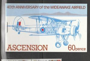 Ascension Booklet 1982 Wideawake Airfield SG SB4