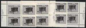 Canada USC #932 Mint MS of Imprint Corners VF-NH Cat. $26. 1983 64c Wood Stove
