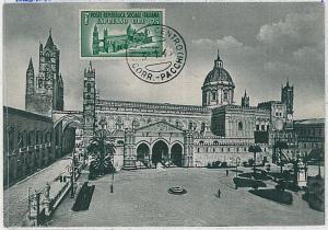 MAXIMUM CARD - Architecture : ITALY - Italia RSI   1946 - EXPRESS STAMP