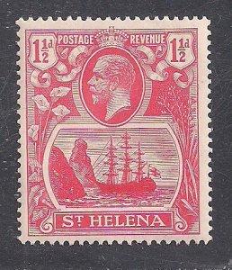 ST. HELENA  SC# 81   FVF/MLH